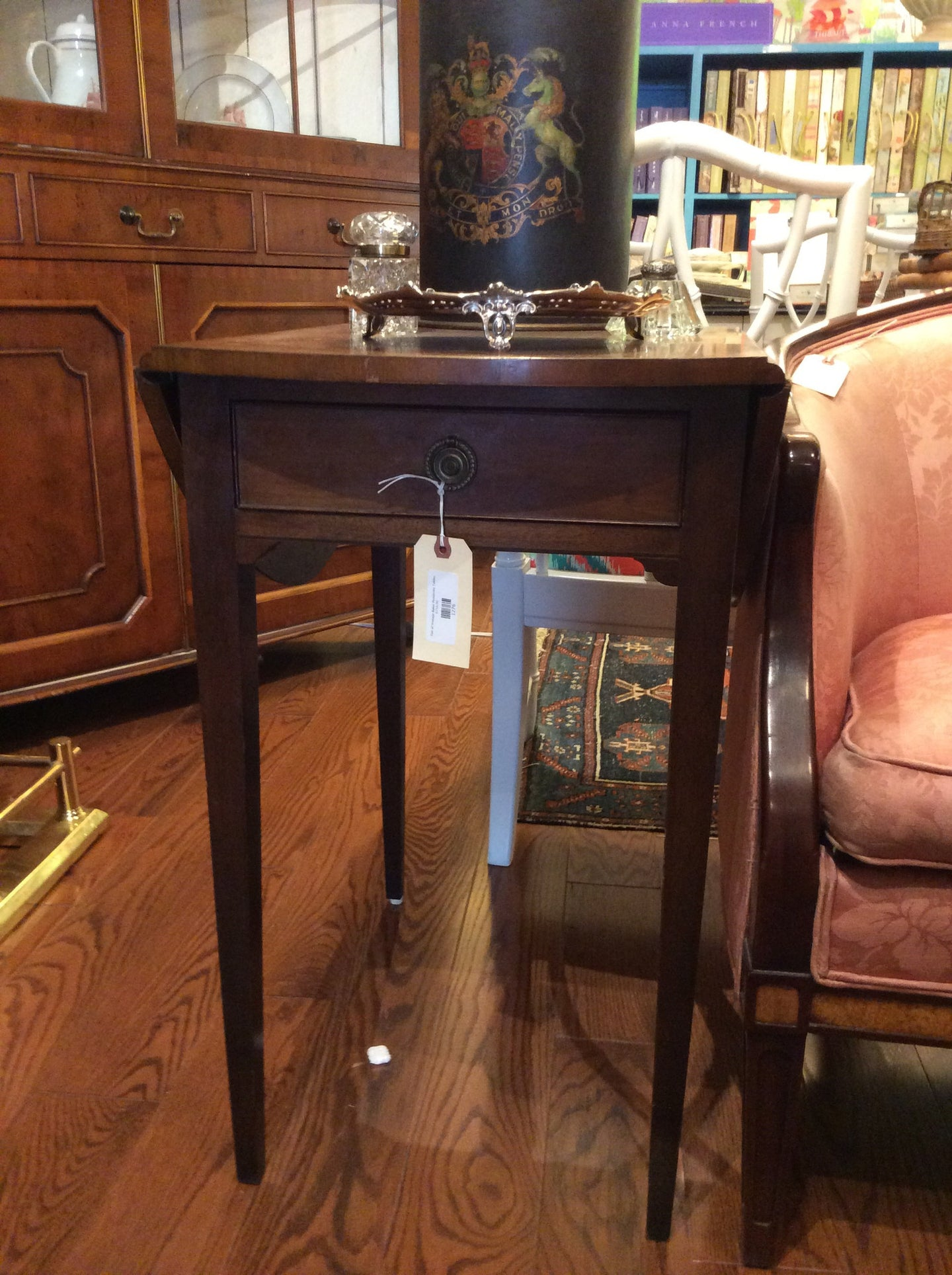 Pair of Vintage Baker Pembroke Tables - Chestnut Lane Antiques & Interiors - 1