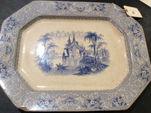 Load image into Gallery viewer, Blue & White Transferware Platter - Chestnut Lane Antiques & Interiors - 2