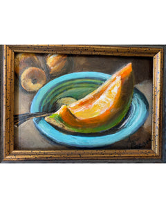 "Anne Groom ""Cantaloupe"" Painting"