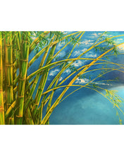 "Load image into Gallery viewer, Clara Gutierrez ""Bamboo"" Painting"