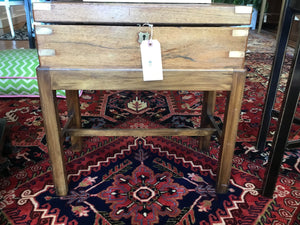 19th Century Lap Desk on a Stand - Chestnut Lane Antiques & Interiors - 3