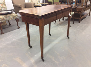 Early 19th Century Federal Style Game Table - Chestnut Lane Antiques & Interiors - 3