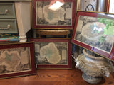 Set of 4 Antique French Maps - Chestnut Lane Antiques & Interiors