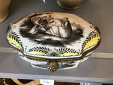 Sceaux 19th cent. Porcelain Dresser Box - Chestnut Lane Antiques & Interiors - 3