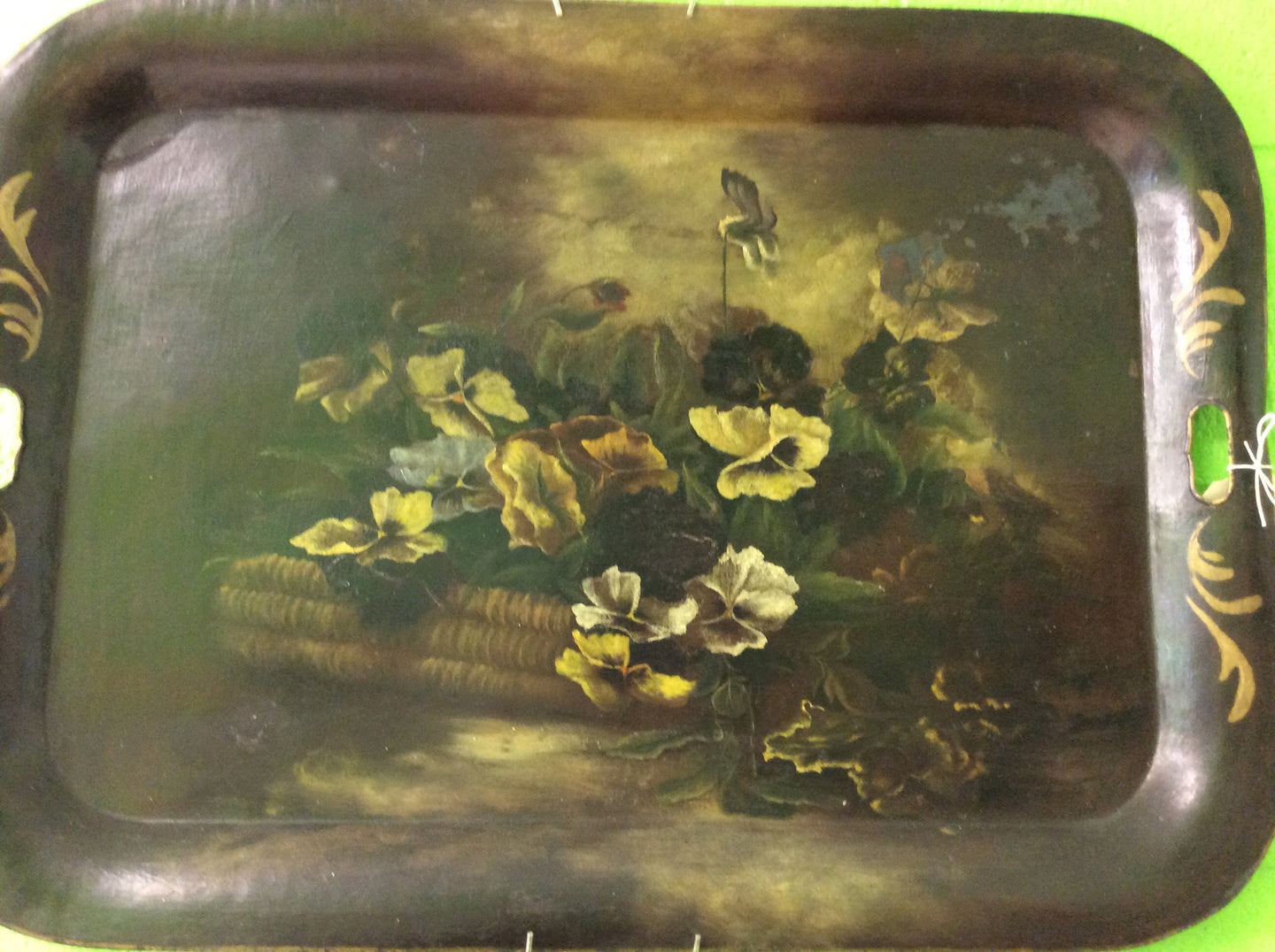 19th Century Toleware Tray - Chestnut Lane Antiques & Interiors