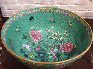 Monumental Straits Porcelain Center Bowl - Chestnut Lane Antiques & Interiors - 3