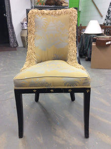 Newly Upholstered Federal Style Antique Chair - Chestnut Lane Antiques & Interiors - 2