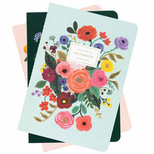 Load image into Gallery viewer, Garden Party Notebook Set