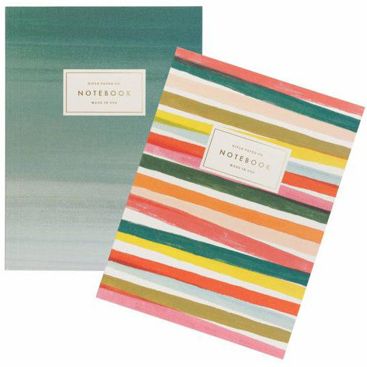 Joie de Vivre Pair of Two Notebooks by Rifle Paper Co