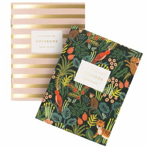 Jungle Pair of Two Pocket Notebooks by Rifle Paper Co