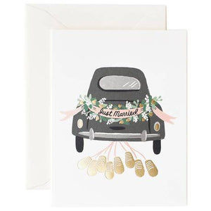 Rifle Paper Co. Greeting Card - Just Married Getaway