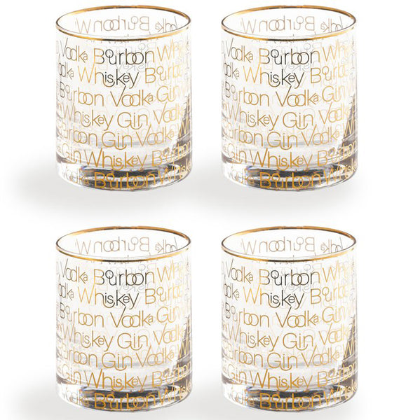 Cheers Double Old Fashion Set of 4