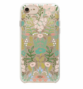 Tapestry Clear iPhone Case