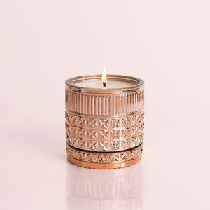 Pink Grapefruit & Prosecco Gilded Faceted Jar