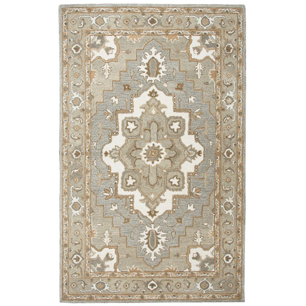 Gray Suffolk Rug - 5'x8'
