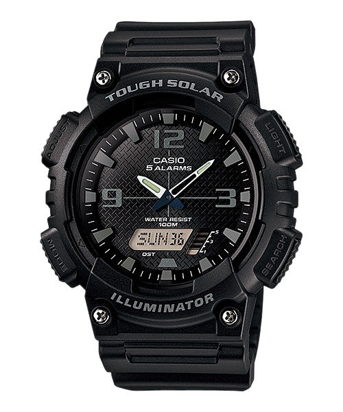 Casio AQS810W-1A2V Solar Illuminator Watch - PhotonBuzz.com