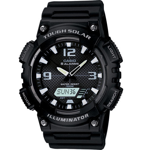 Casio AQS810W-1AV Solar Illuminator Watch - PhotonBuzz.com