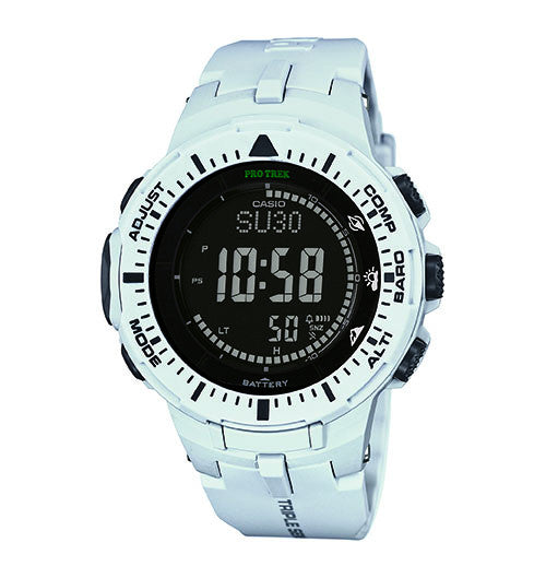 Casio ProTrek PRG300-1A2 Triple Sensor Solar Watch - PhotonBuzz.com
