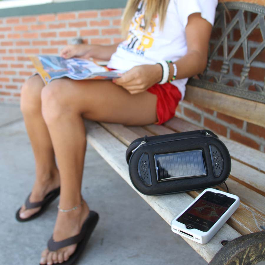 Davis SoliCharger-SP™ Universal Solar Charger/Speakers - PhotonBuzz.com