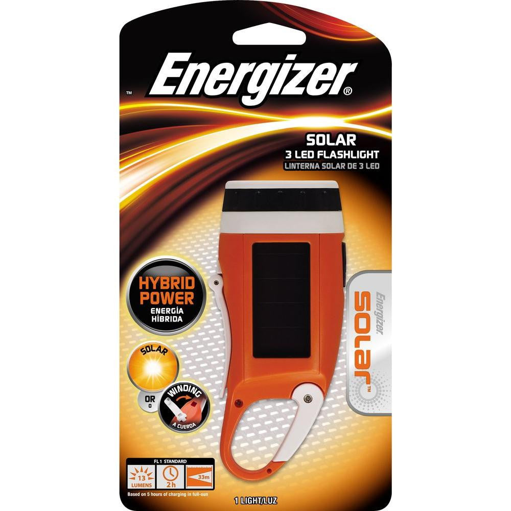 Energizer® Solar™ 3 LED Crank Light - PhotonBuzz.com