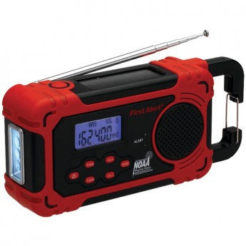 First Alert Solar Weather Radio w Weather Alert - PhotonBuzz.com