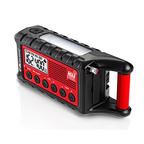 Midland ER310 Emergency Crank Solar Radio w/AM/FM/Weather Alert - PhotonBuzz.com