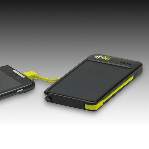Secur™ SP-3007 Solar Power Bank 4000 Charger - PhotonBuzz.com