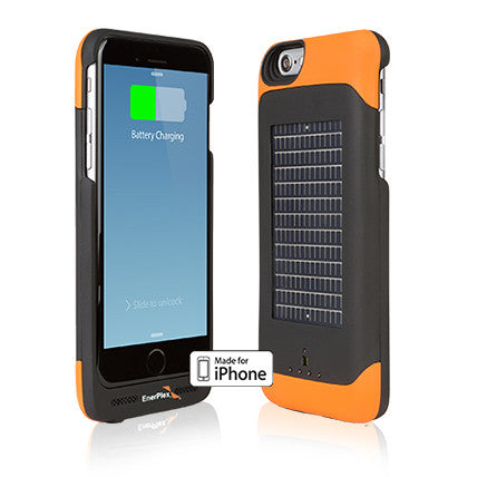 EnerPlex Surfr AMP iPhone 6 Solar Case Recharger - PhotonBuzz.com