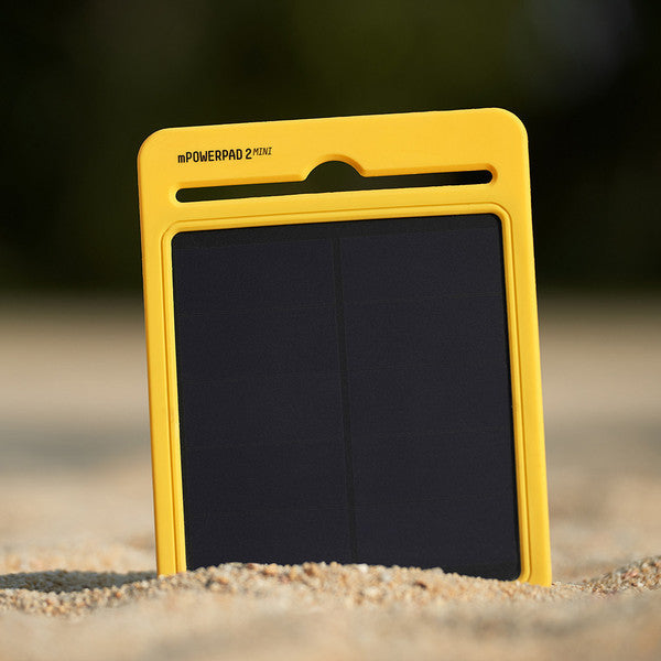 mPowerpad 2 Mini Solar Recharger (3000mAh) - PhotonBuzz.com