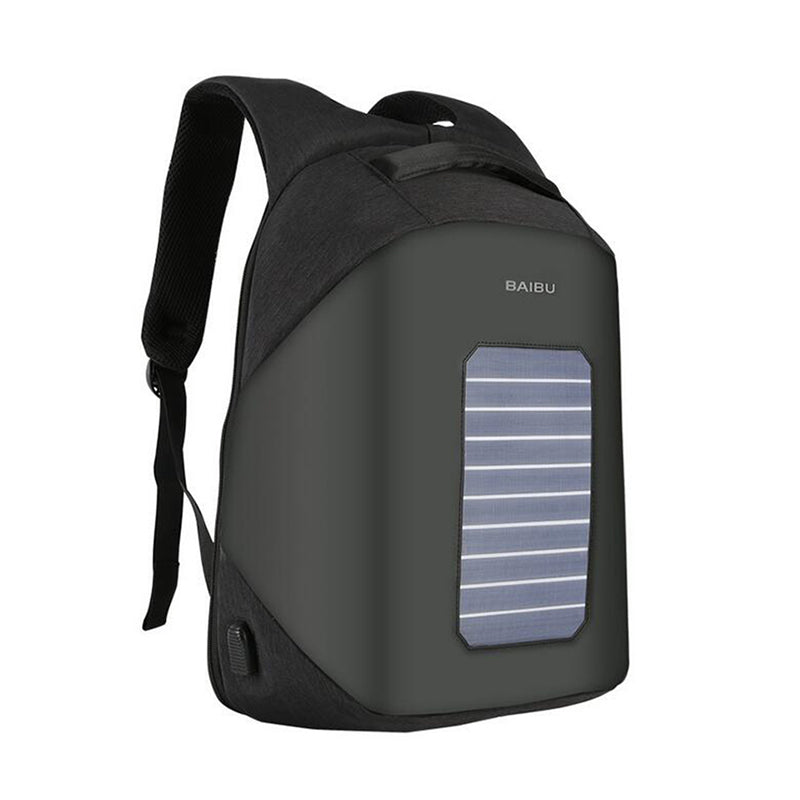 NEW Men Backpack 10W Solar Powered Designer Backpack Usb Charging Anti-Theft 15.6'' Laptop Backpack  women Waterproof Bags - PhotonBuzz.com