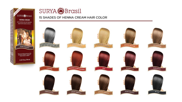 Henna The Healthier Conditioning Hair Color Surya Brasil