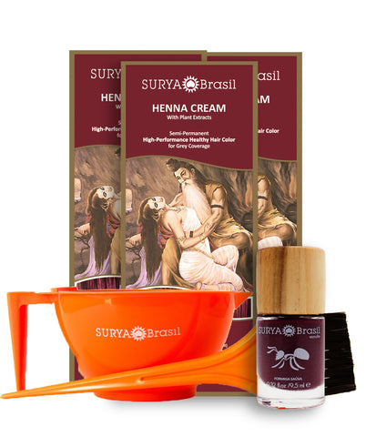 Henna Cream Essential Kit