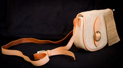 Organic Cotton Small Saddle Bag