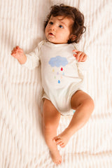 Organic Cotton Cloud Onesie
