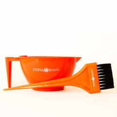 Orange Bowl and Brush