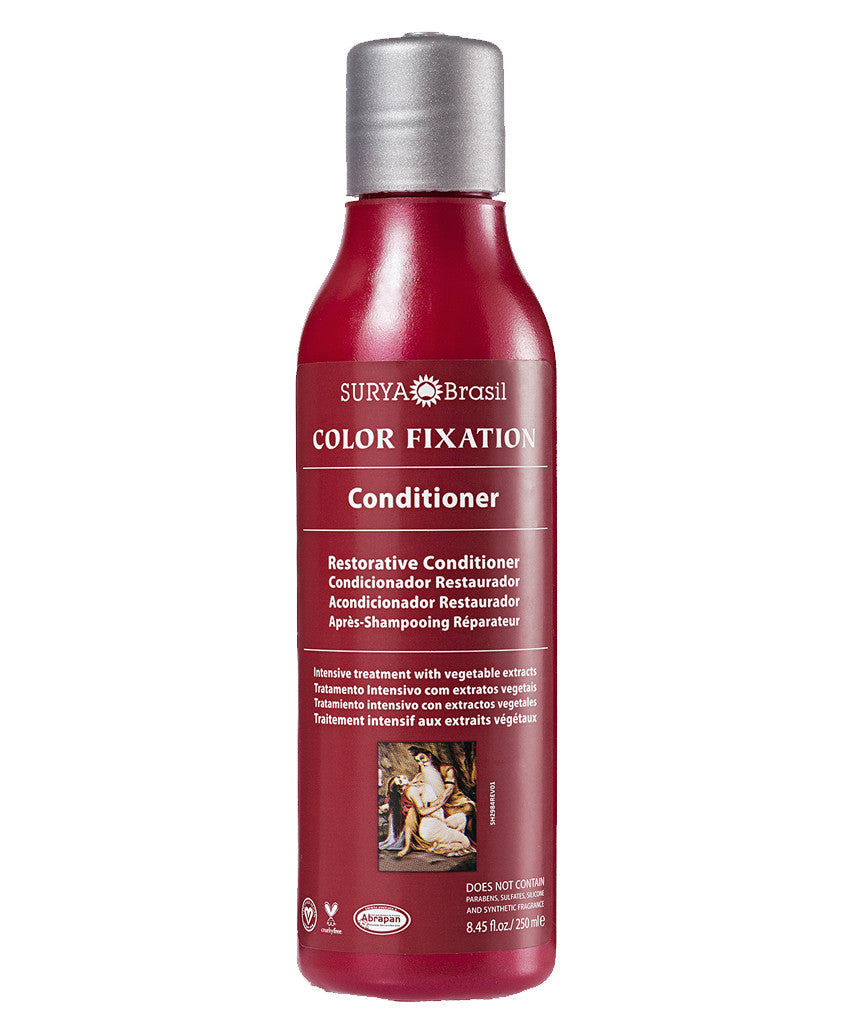 Color Fixation Restorative Conditioner Surya Brasil 8.45oz - 15.5 Special Offer