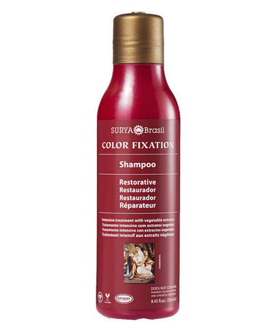 Color Fixation Restorative Shampoo Surya Brasil 8.45oz