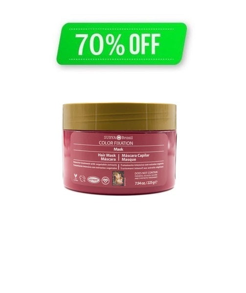 Color Fixation Restorative Hair Mask Surya Brasil 7.94oz - 15.1 Special Offer