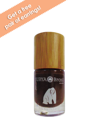 Exotic Animals Nail Polish Orangutan