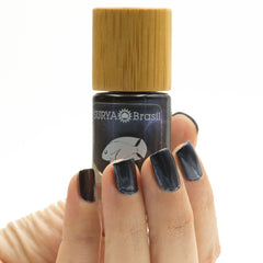 Exotic Animals Nail Polish Dark Blue Angelfish