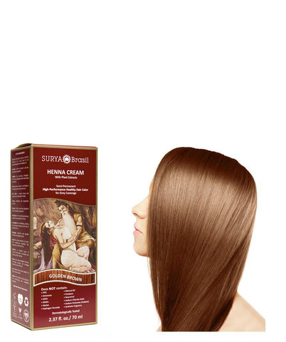 Henna Cream Golden Brown