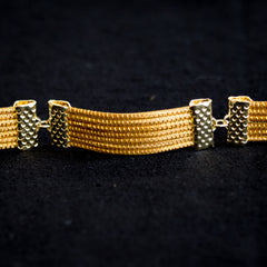 Brazilian Golden Straw Bracelet SBP 02232