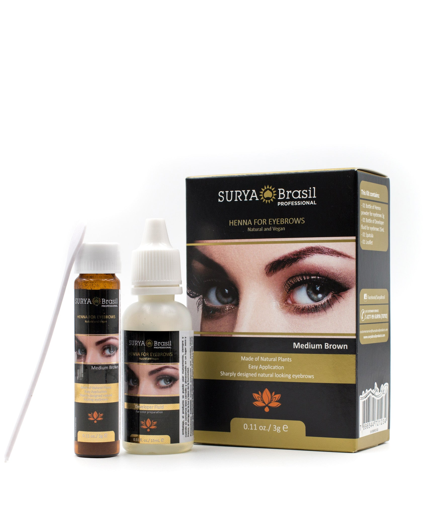 Henna Eyebrows Natural Eyebrow Color Eyebrow Tinting Surya Brasil
