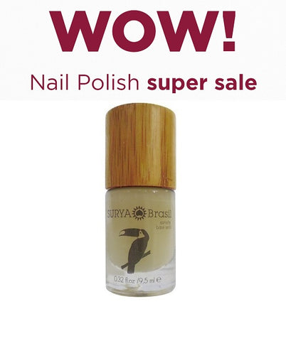 7-Free Nail Polish Base Coat Surya Brasil 9.5ml - 45.19 Special Offer