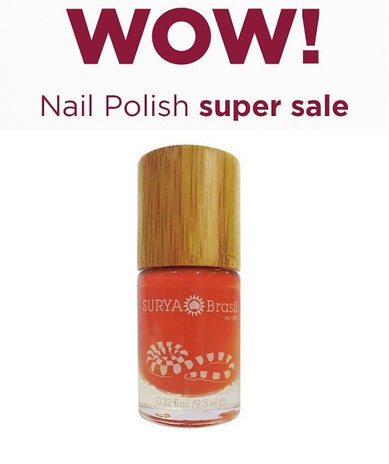 Exotic Animals Nail Polish Coral Snake Surya Brasil 9.5ml - 45.16 Special Offer