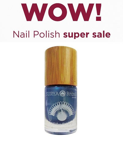 7-Free Nail Polish Peacock Surya Brasil 9.5ml - 45.2 Special Offer