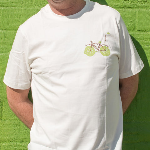 Men Bike Tee - Leaf