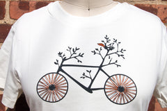 Women Bike Tee - Branches