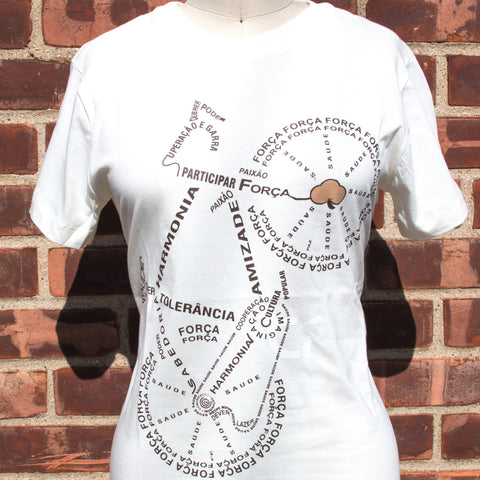 Women Bike Tee - Word Design