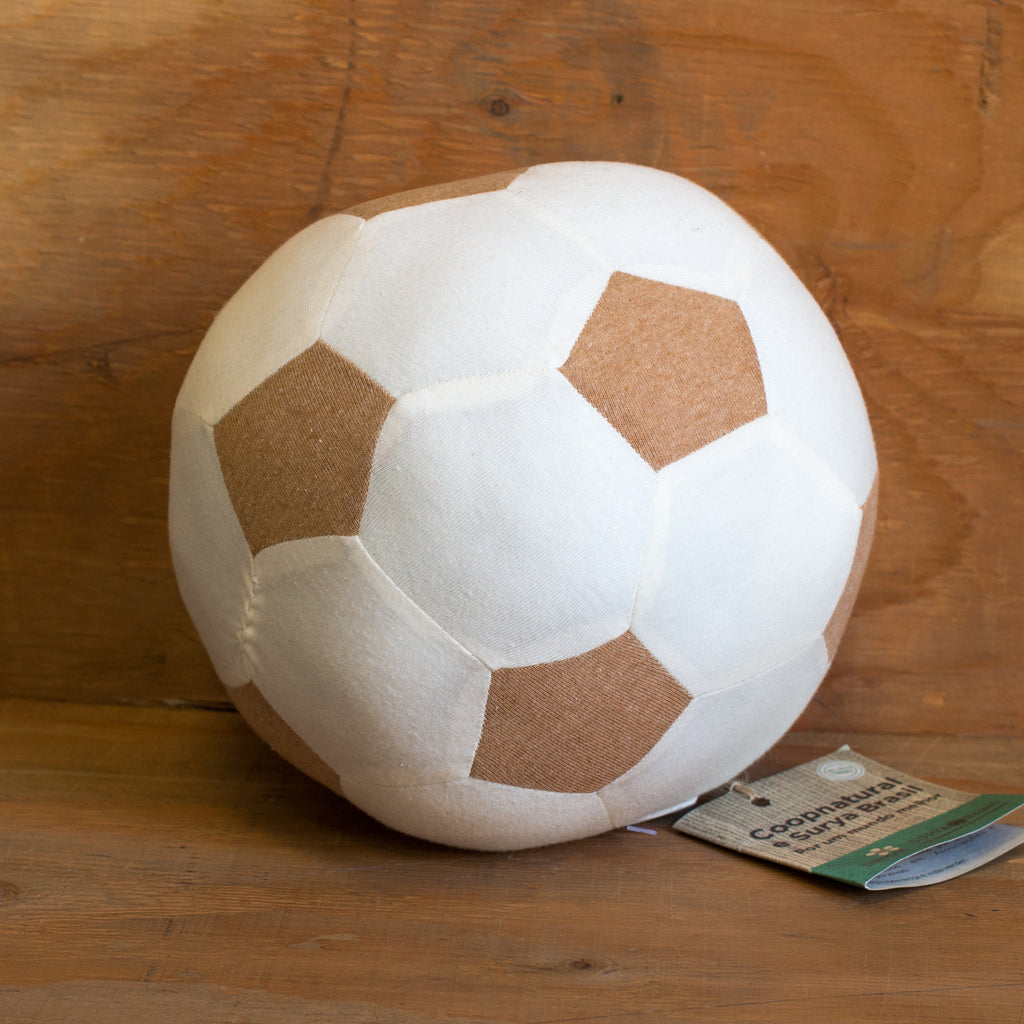 Organic Cotton Soccer Ball